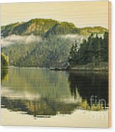 Early Morning Reflections Wood Print by Robert Bales
