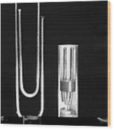 Early Point Contact Transistor Wood Print by Science Photo Library