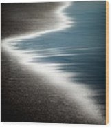 Ebb And Flow Wood Print by Dave Bowman