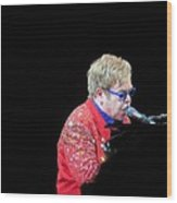 Elton Wood Print by Aaron Martens