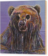 Embarrassed Wood Print by Bob Coonts
