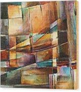'endless Shift' Wood Print by Michael Lang