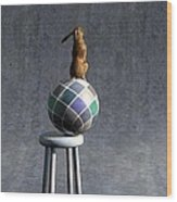 Equilibrium II Wood Print by Cynthia Decker
