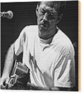 Eric Clapton 003 Wood Print by Timothy Bischoff