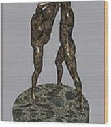 erotic acrobatics 3EA 1 Wood Print by Pemaro
