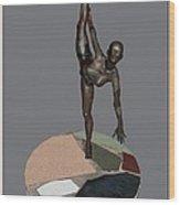 erotic acrobatics 7EA 1 Wood Print by Pemaro