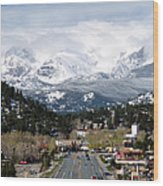 Estes Park In The Spring Wood Print by Tranquil Light  Photography