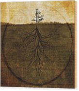 Exemplar Wood Print by Brett Pfister