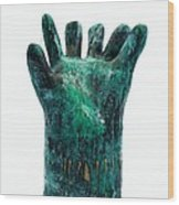 Fabulas Malachite Hand Wood Print by Mark M  Mellon