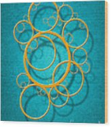 Family Circles Wood Print by Cristophers Dream Artistry