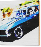 Fast Ford Falcon Wood Print by Phil 'motography' Clark