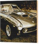 Ferrari 250 Gt Swb Wood Print by Phil 'motography' Clark