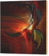 Fiery Flight Wood Print by Gun Legler
