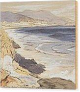 Finale Wood Print by Edward Lear