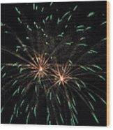 Fireworks 29 Wood Print by Staci Bigelow