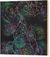 Fireworks Celebration By Jrr Wood Print by First Star Art