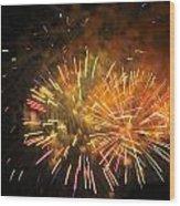 Fireworks IIi Wood Print by Tiffany Erdman