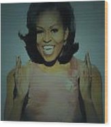 First Lady Wood Print by Brian Reaves