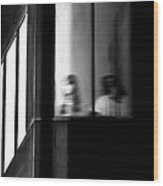 Five Windows Wood Print by Bob Orsillo