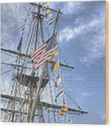 Flagship Niagara Wood Print by David Bearden