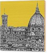 Florence Duomo  Wood Print by Adendorff Design