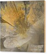 Flower IIi Wood Print by Yanni Theodorou