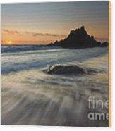 Fogarty Tides Wood Print by Mike  Dawson