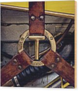 Ford T Hood Strap Wood Print by Odd Jeppesen