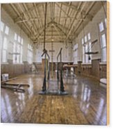 Fordyce Bathhouse Gymnasium - Hot Springs - Arkansas Wood Print by Jason Politte