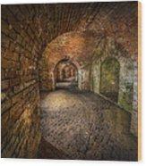 Fort Macomb Wood Print by David Morefield