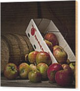 Fresh From The Orchard I Wood Print by Tom Mc Nemar