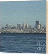 From Sausalito Wood Print by David Bearden