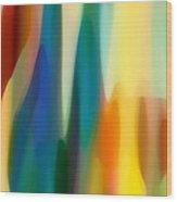 Fury 6 Wood Print by Amy Vangsgard