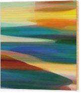 Fury Seascape 4 Wood Print by Amy Vangsgard
