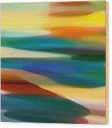 Fury Seascape 5 Wood Print by Amy Vangsgard