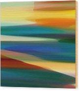 Fury Seascape 7 Wood Print by Amy Vangsgard