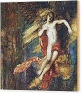 Ganymede Wood Print by Gustave Moreau