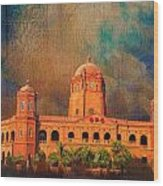 General Post Office Lahore Wood Print by Catf