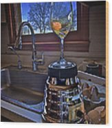 Gentlemen Start Your Blenders Wood Print by Mark Miller