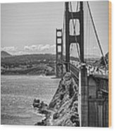 Going To San Francisco Wood Print by Heather Applegate