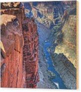 Grand Canyon Awe Inspiring Wood Print by Bob Christopher