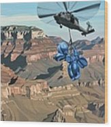 Grand Canyon Wood Print by Scott Listfield