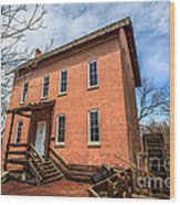 Grist Mill In Northwest Indiana Wood Print by Paul Velgos