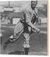 Grover Cleveland Alexander 1915 Wood Print by Unknown