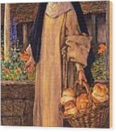Guinevere Wood Print by Eleanor Fortescue Brickdale
