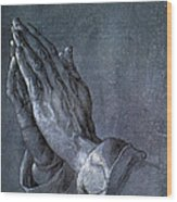 Hands Of An Apostle 1508 Wood Print by Philip Ralley