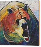 He Who Greets With Fire Wood Print by Joe  Triano