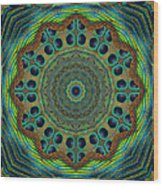 Healing Mandala 19 Wood Print by Bell And Todd