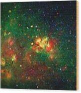 Hidden Nebula Wood Print by Jennifer Rondinelli Reilly - Fine Art Photography