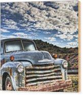 High Miles Wood Print by Eddie Yerkish